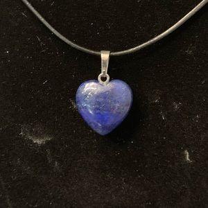 Jewelry - Lapis Lazuli Heart Necklace